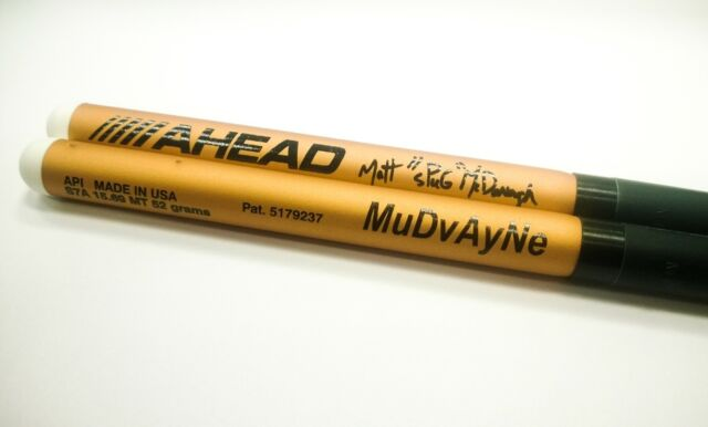 AHEAD Matt McDonough S7A Aluminum Drumsticks Nylon Tip drum sticks Free US Ship