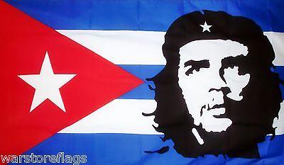 Che Guevara 3x5FT FLAG Hasta La Victoria Siempre Red Cuban Revolution Marxist