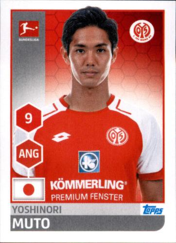 Sticker 198 Yoshinori Muto TOPPS Bundesliga 2017//2018