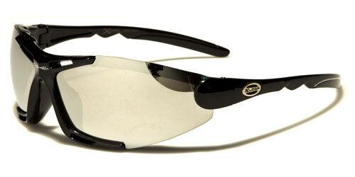 X-Loop Semi-Rimless Men/'s Black Sport Wrap Sunglasses Cycling Skiing XL599MIX