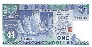 Singapore-1-Dollar-1987-Unc-pn-18a