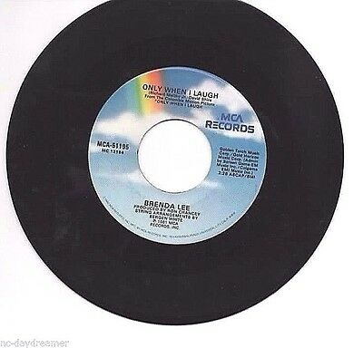 BRENDA LEE - Only When I Laugh / Too Many Nights Alone (MCA 1980-81)
