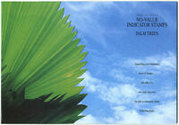 Singapore Stamps No Value Indicator Palm Trees Kit, FDC & Booklet Pane Sc # 673c