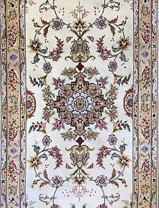 Image Is Loading Tremendous Tabriz Fine 50 Raj Persian Fl Oriental