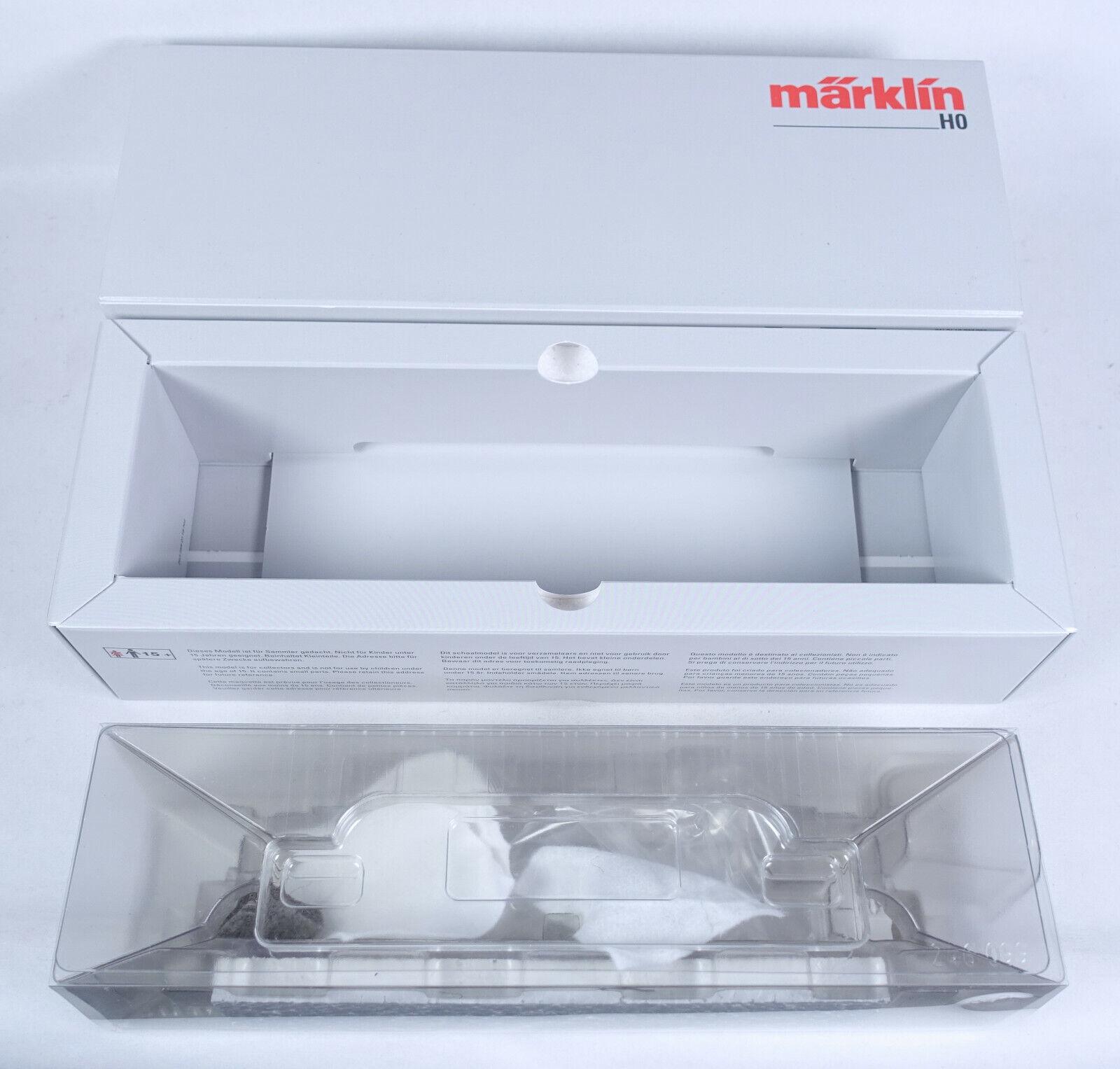 Märklin Empty Box 37872 E-LOK BR E 193 012-2 MFX + Digital Insider Club Model