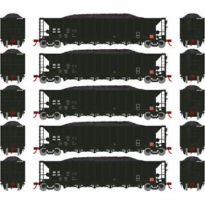 Athearn-HO-Ready-to-Run-5-Bay-Rapid-Discharge-Hopper-BNSF-3-5