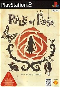 Rule-of-Rose-SONY-PLAYSTATION-2-PS2-JAPAN-Very-Rare-F-S