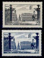 NANCY noir et bleu, Neufs * = Cote 11 € / Lot Timbres France 778 822
