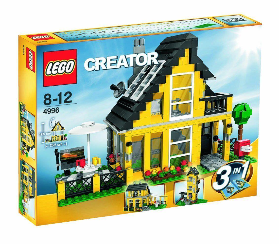 LEGO® Creator 4996  Ferienhaus NEU ungeöffnet  3 in 1 Modelle