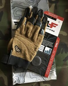Line-of-Fire-Wookie-Coyote-Gloves-L-With-36-Tegs-Tape-Included