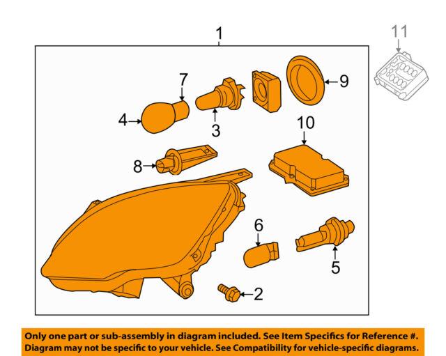 mercedes mercedes-benz oem-headlight-head light headlamp assy right  2518206061
