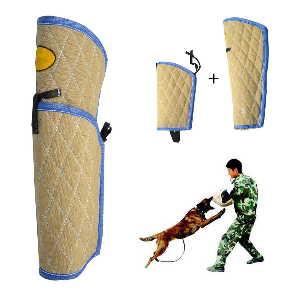 Intermediate Jute Dog Training Training Training Bite Sleeve for K9 Dog Chewing Arm Protective def3b4