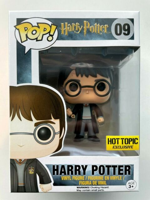 Funko Pop Harry Potter with Gryffindor's Sword #09 9 Hot Topic Exclusive Vaulted