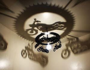 Motorcycle Light Harley Motorcycles Harley Davidson Home Decor Ebay