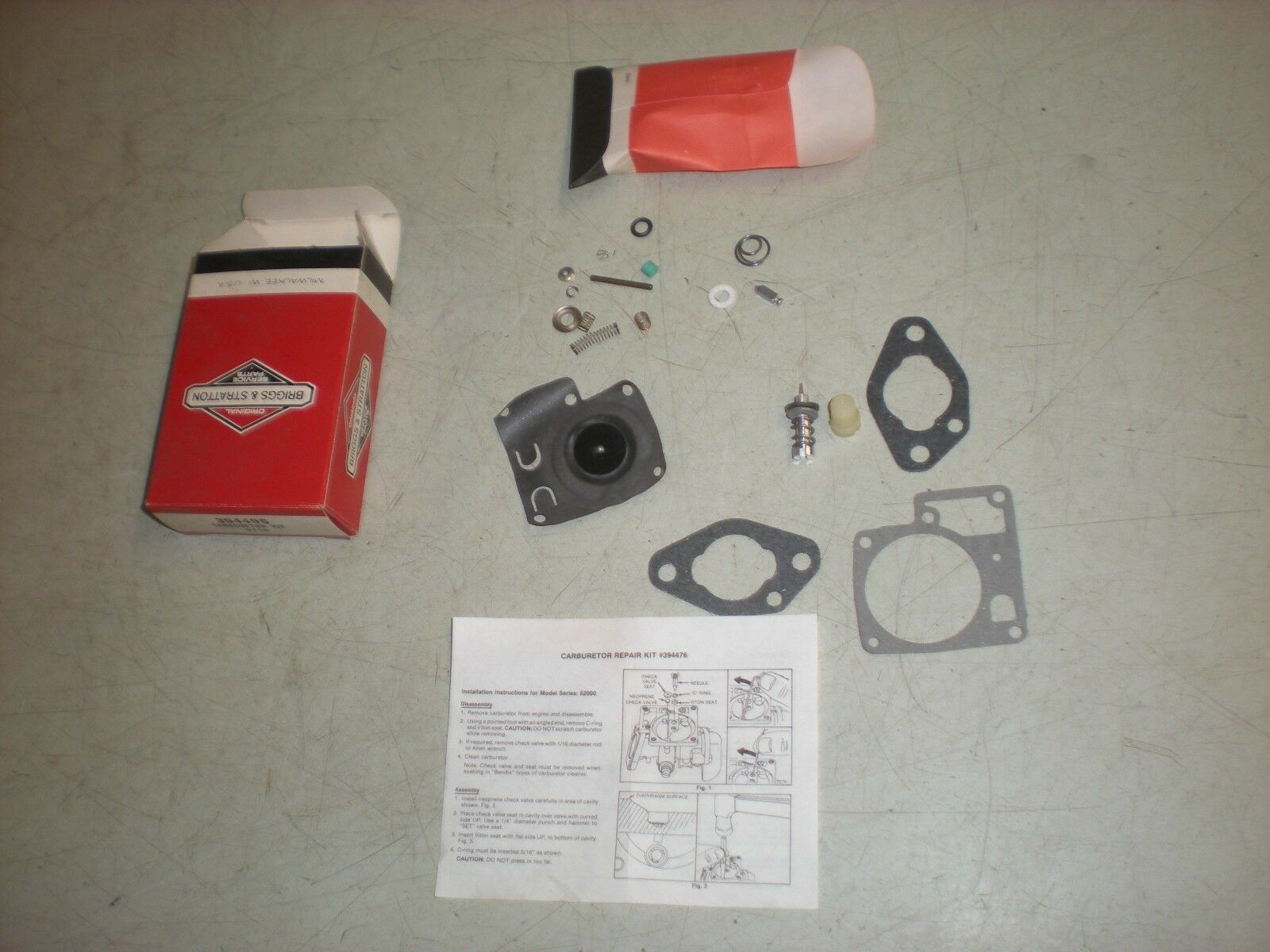 Briggs 394495 Cocheburador Kit Para Motor De NIEVE temprana 62030 Series-nos-nla