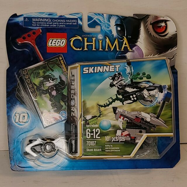 Lego Chima 2013 New Minifig Skunk Tribe Speedor Vehicle Rip Cord Toy