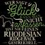 Rhodesian Ridgeback Bonheur T-shirt Hommes Slogan Cadeau Idée chiens propriétaire NEUF