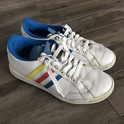 Adidas Vintage Style Sneakers Blue Red