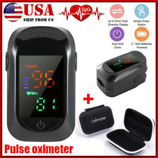 Fingertip Pulse Oximeter Pro Blood Oxygen Saturation Spo2 Heart Rate Monitor