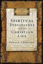 Spiritual Disciplines for the Christian Life by Donald S. Whitney (2014, Paperback, Revised)