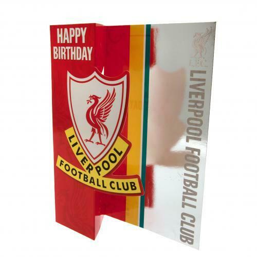 Liverpool FC Liverbird Birthday Card For Everyone Gift Present Xmas New