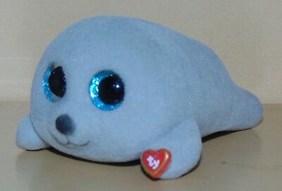 "2018 TY Beanie Boos Mini Boo Series 3 Collectible Figure 2/"" Neal the Grey Seal"
