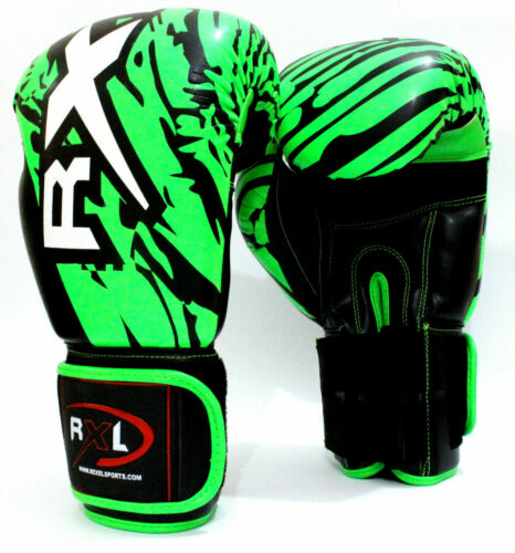 Rexel Professional Boxing Gloves MMA Traning Gloves Elegant green color