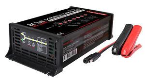 BC2410AL 24V 10A 7Stage AGM GEL SLA SOLAR BATTERY BANK SMART Charger Maintainer