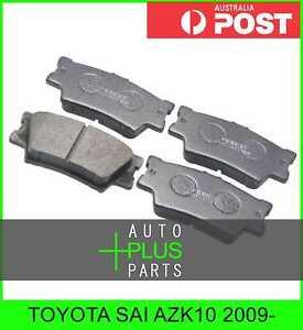Fits-TOYOTA-SAI-AZK10-2009-Brake-Pads-Disc-Brake-Rear