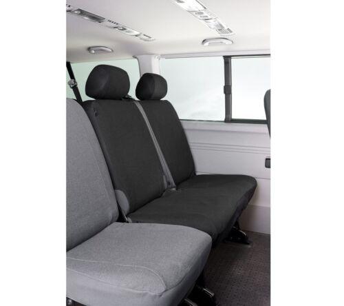 Maßbezug Sitzbezug Doppelbank hinten VW T5 Transporter