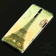 Sony Ericsson LT26i Xperia S Hard Case Schutz Hülle Schale Etui Cover France