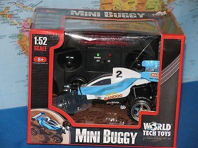 1/52 Mini Buggy Funzionanti R/c Radio Controllo Serie 27mhz Nuovo & Vhtf Brividi E Dolori