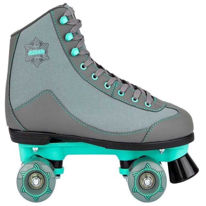 Rollschuhe  Roller Skates Rollerskates Leder Canvas Rambler Mint  Rollschuhe Neu 2018 796ca2
