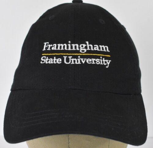 Black Framingham State University Embroidered Base
