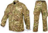 BRITISH ARMY PCS STYLE SHIRT AND TROUSER SET SUIT MTP MULTICAM GENUINE CAMO