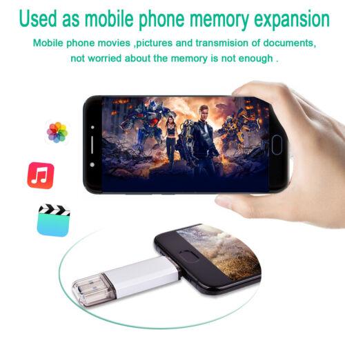 64GB Type-C Dual OTG USB 3.0 Flash Drive Memory Stick Thumb 2 in 1 for Phone PC