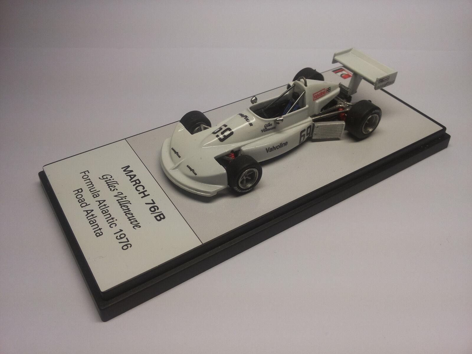 Gilles Villeneuve Kit March 76/b Road Atlanta