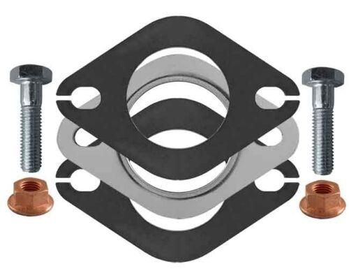 """2,10/"""" Universal échappement bride connecteur joint /& accessoires 53,5 mm 2-trou"""