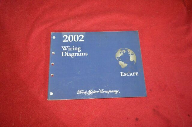 2002 Ford Escape Wiring Diagram Manual Fcca