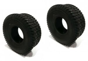 (2) 15x6x6 15x6.00x6 15x600x6 Turf Tires 4 Ply Tubeless Lawn Mower Tractor Rider Top PastèQues