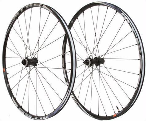 "Shimano Mt66 29/"" All Mountain Bicycle Tubeless Wheelset Black Bike"