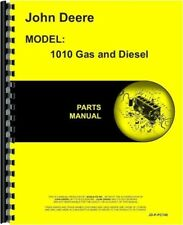 1978 John Deere 1010 Crawler Gas Amp Diesel Parts Manual Catalog
