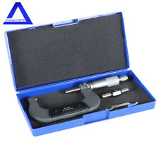 Outside Micrometer 2 300001 Carbide Tipped Precision Micrometer New