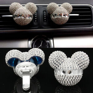 Details about Pair Cute Mouse Fragrance Car Air Freshener Auto Vent Perfume  Diffuser