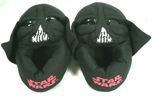 pretty nice on feet at the best Star Wars Darth Vader Small Adult Slippers Slip-On House Shoes ...