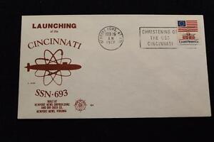 Naval-Cubierta-1977-Eslogan-Cancelado-Launching-Uss-Cincinnati-SSN-693-3489
