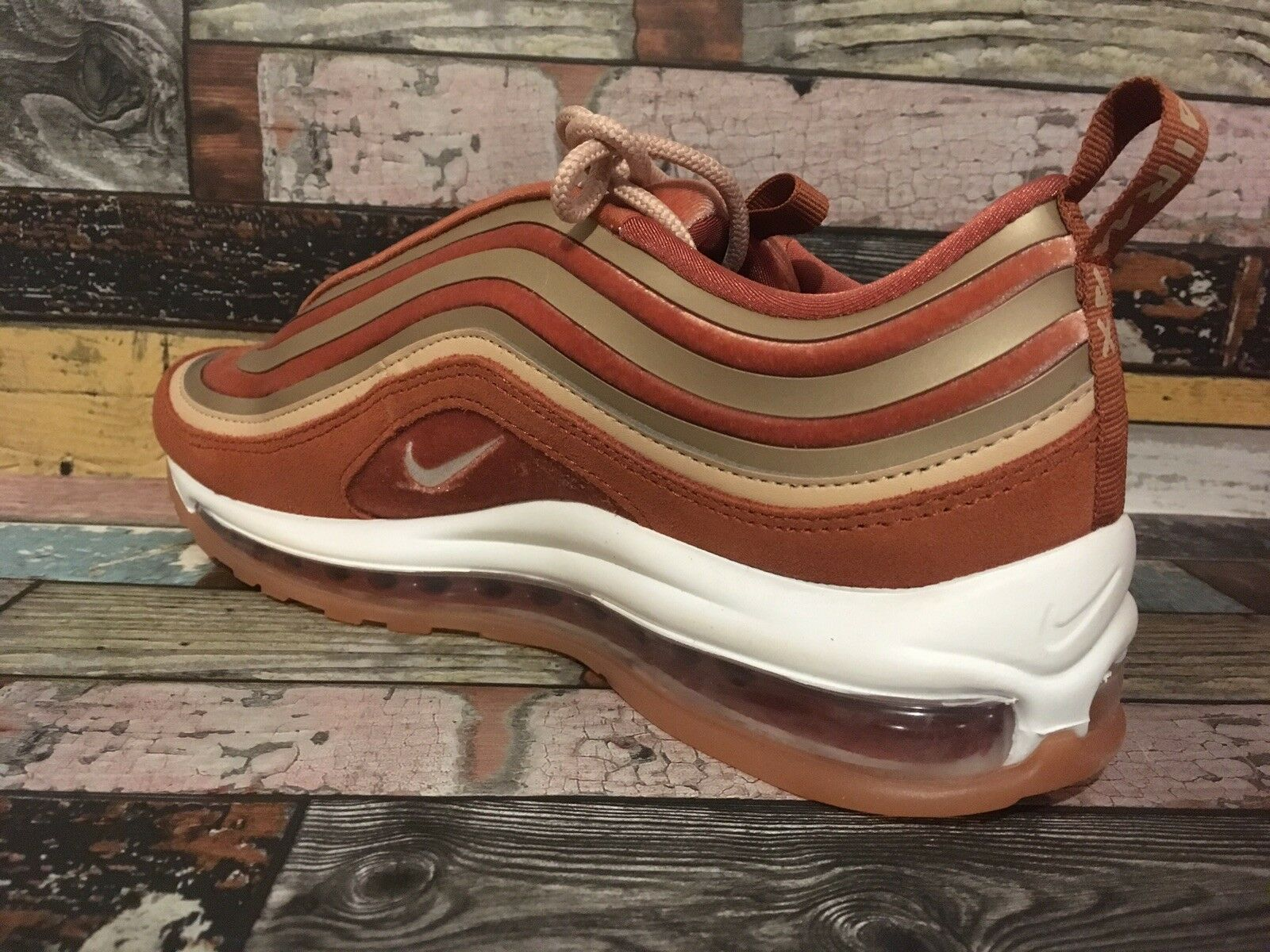 newest collection c4f45 865bc Nike Air Max 97 UL 17 Lux Womens Trainers UK Size 7.5 Ah6805 200 for sale  online   eBay