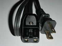 Ge General Electric Coffee Percolator Power Cord Cat No. G8p40 A4cm10 (2pin) 36