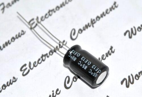 SANYO 47uF 10pcs 100V O.E13 Radial Electrolytic Capacitor 47µF