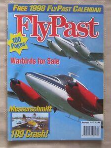 Details about FLYPAST - DEC 1997 - MASSERSCHMITT 109 CRASH! - WARBIRDS FOR  SALE